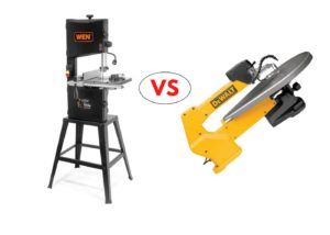 scroll saw and band saw compared