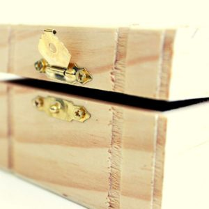 A box with a lid made using one of the best wood lathe tools