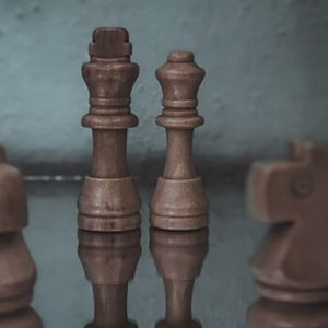 Chess pieces sports item on the table made with one of the best wood lathe