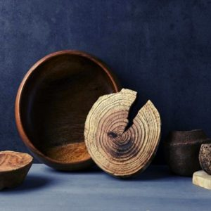 Wood bowl made with one of the best wood lathe machines