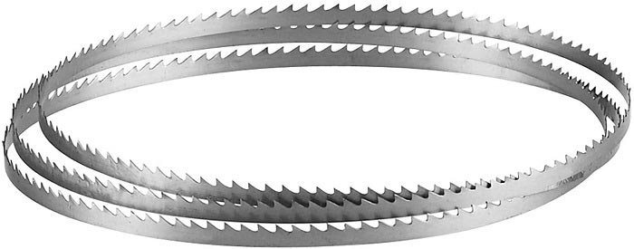 Steps for Folding a Band saw Blade