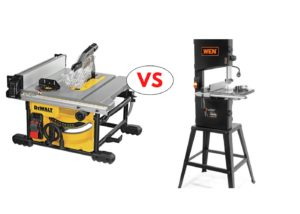 Table Saw Vs. Band Saw compared