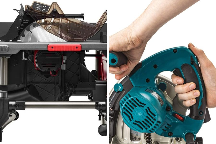Choosing Between a Track Saw and Table Saw