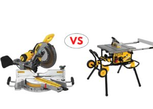 Miter Saw Vs Table Saw Compared